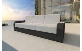 Rattan Lounge Sofa MESIA 3 Sitzer NATIVO™ Möbel Schweiz