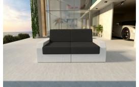 Canapé 2 places en rotin MESIA