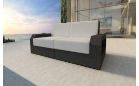 Rattan Lounge Sofa MESIA 2 Sitzer NATIVO™ Möbel Schweiz