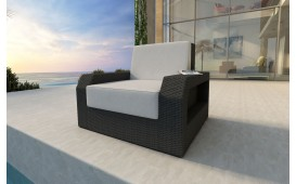 Rattan Lounge Sofa MESIA 1 Sitzer NATIVO™ Möbel Schweiz