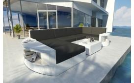 Canapé Lounge en rotin ATLANTIS XL