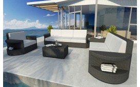 Rattan Lounge Set ATLANTIS 3+2+1 NATIVO™ Möbel Schweiz