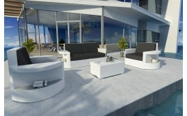 Rattan Lounge Set ATLANTIS 2+1+1 NATIVO™ Möbel Schweiz