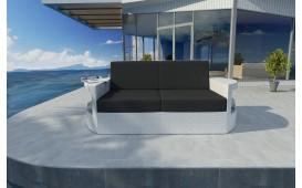 Canapé 2 places en rotin ATLANTIS