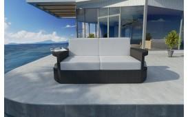 Rattan Lounge Sofa ATLANTIS 2 Sitzer NATIVO™ Möbel Schweiz