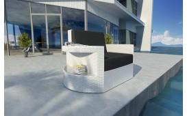 Rattan Lounge Sofa ATLANTIS 1 Sitzer NATIVO™ Möbel Schweiz