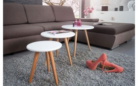 Table d'appoint Design SCENA SET 3