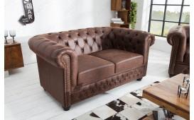 Sofa CHESTERFIELD  VINTAGE / 2 Sitzer