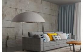 Designer Hängeleuchte WOK XL GREY 70 cm NATIVO™ Möbel Schweiz