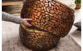 Designer Couchtisch BLOCK GOLD SET 2 NATIVO™ Möbel Schweiz
