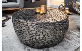 Designer Couchtisch BLOCK SILVER 85 cm NATIVO™ Möbel Schweiz
