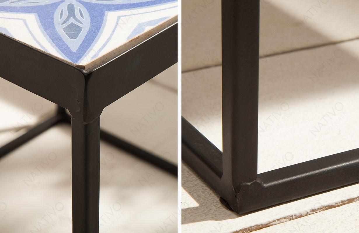 Meuble salon NATIVO - Table d'appoint FIORI 40 cm