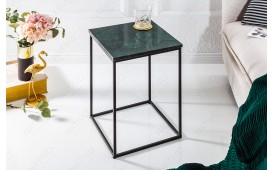Designer Beistelltisch MARMO BLACK GREEN NATIVO™ Möbel Schweiz