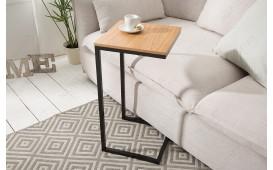Tavolino d'appoggio di design SIMPO 60 cm BLACK OAK