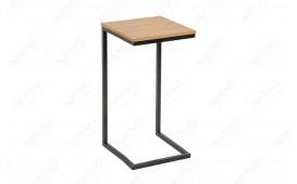 Tavolino d'appoggio di design SIMPO 60 cm BLACK OAK NATIVO™ Möbel Schweiz