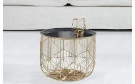 Designer Beistelltisch CAGE GOLD 36 cm