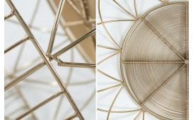Designer Beistelltisch CAGE GOLD 36 cm NATIVO™ Möbel Schweiz