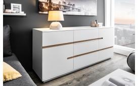 Designer Hochkommode PORTION WHITE 160 cm