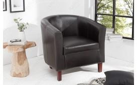 Designer Lounge Sessel ERNEST DARK BROWN NATIVO™ Möbel Schweiz
