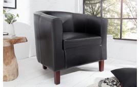 Designer Lounge Sessel ERNEST BLACK