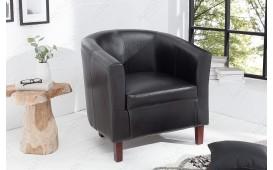 Fauteuil Lounge ERNEST BLACK NATIVO™ Möbel Schweiz