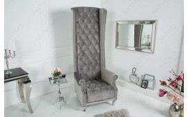 Designer Relaxsessel ROYALS SILVER GREY
