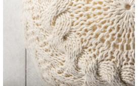 Designer Sitzhocker BOHO II WHITE NATIVO™ Möbel Schweiz