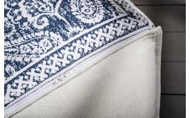 Designer Sitzhocker BOHO ORIENTAL BLUE 52 cm NATIVO™ Möbel Schweiz