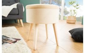 Pouf di design CAPABLE BEIGE NATIVO™ Möbel Schweiz