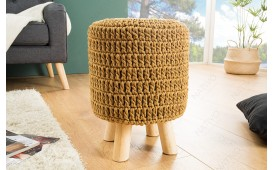 Tabouret Design LEED COFFEE I