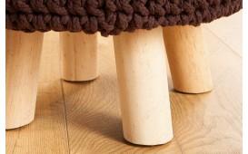 Designer Sitzhocker LEED DARK COFFEE I NATIVO™ Möbel Schweiz