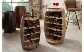 Etagère Design WINE VILLA LIGHT 60 cm