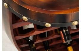 Scaffale di design WINE VILLA DARK 80 cm