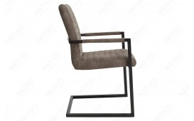Chaise Design LORDLY BROWN