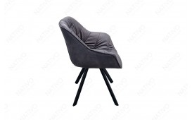 Chaise Design WADE BLACK