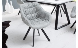 Chaise Design WADE GREY