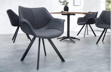 Designer Stuhl MOLDY GREY NATIVO™ Möbel Schweiz