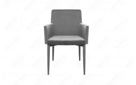 Chaise Design TORINO GREY MIT ARMLEHNE