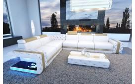 Designer Sofa IMPERIAL CORNER mit LED Beleuchtung