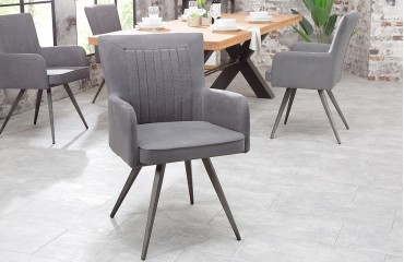 Chaise Design ROSTER GREY I