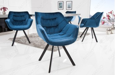 Sedia di design SOLACE BLUE
