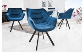 Designer Stuhl SOLACE BLUE