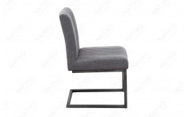 Chaise Design VILLA GREY BLACK