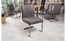 Chaise Design VILLA GREY SILVER