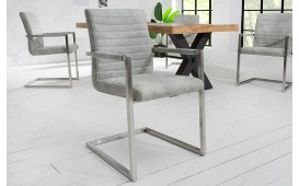 Sedia di design BORNEO LIGHT GREY