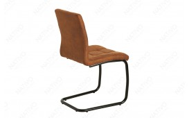 Chaise Design LIVORNO LIGHT BROWN