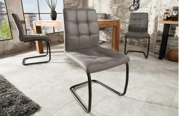 Designer Stuhl LIVORNO DARK GREY NATIVO™ Möbel Schweiz