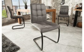 4 x Chaise Design LIVORNO DARK GREY