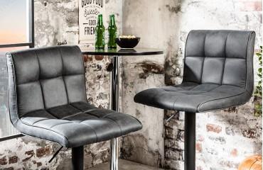 Designer Barhocker CESENA GREY I NATIVO™ Möbel Schweiz