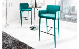 Designer Barhocker TORINO BLUE